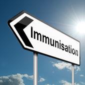 Immunisering koncept. — Stockfoto