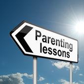 Clases de crianza de los hijos. — Foto de Stock