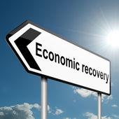 Economic recovery concept. — Stock Photo