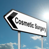Cosmetic surgery concept. — Stock Photo
