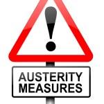 Austerity concept. — Stock Photo