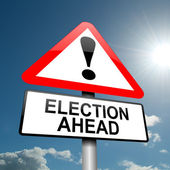 Election concept. — Stock Photo