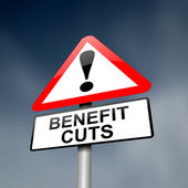 Benefits and welfare concept. — Foto Stock