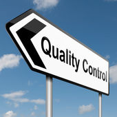 Quality control concept. — Stock Photo