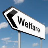 Welfare concept. — Foto Stock