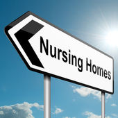 Nursing home concept. — Stock Photo