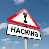Hacking concept. — Stock Photo