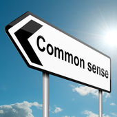 Common sense concept. — Stock Photo