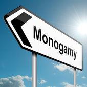 Monogamy concept. — Stock Photo