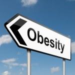 Obesity concept. — Stock Photo