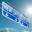 Постер, плакат: New or old life
