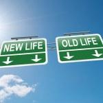 Yeni veya eski hayat — Stok fotoğraf