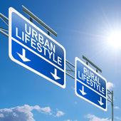 Rural or urban lifestyle. — Stock Photo