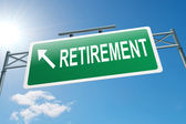 Retirement concept. — Stock Photo