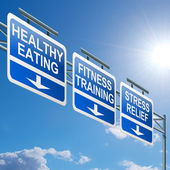 Healthy lifestyle concept. — Stock Photo