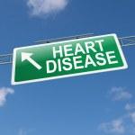 Постер, плакат: Heart disease concept