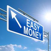 Easy money concept. — Stock Photo