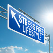Stress free lifestyle. — Stock Photo