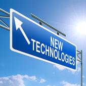 Nieuwe technologieën concept. — Stockfoto