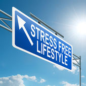 Stress free lifestyle. — Stock Photo