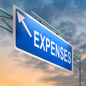 Expenses concept. — Stock Photo