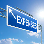 Expenses concept. — Stock Photo