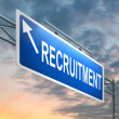 Recruitment concept. — Foto Stock