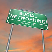 Social networking concept. — Stock Photo