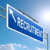 Recruitment concept. — Stock Photo