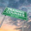 Stock Photo: Training courses concept.