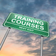 Royalty-Free Stock Photo: Training courses concept.