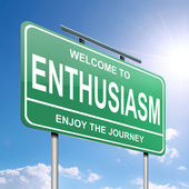 Enthusiasm concept. — Stock Photo