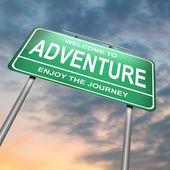 Adventure concept. — Stock Photo