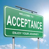 Acceptance concept. — Stock Photo