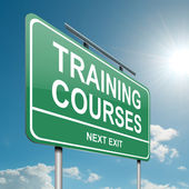 Training courses concept. — Stock Photo