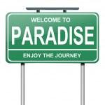Постер, плакат: Paradise concept