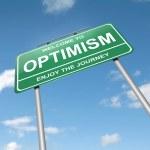 Optimistic concept. — Stock Photo #11722199