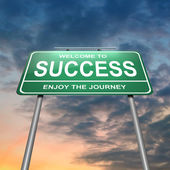 Success concept. — Stock Photo