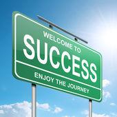 Success concept. — Stockfoto