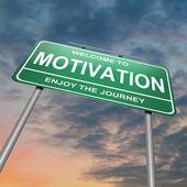 Concepto de motivación. — Foto de Stock