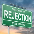 Stock Photo: Rejection concept.