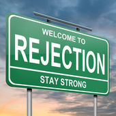 Rejection concept. — Stock Photo