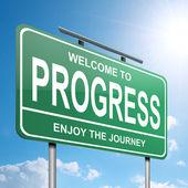 Progress concept. — Stock Photo