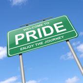Pride concept. — Stock Photo