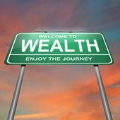 Wealth concept. — Stock Photo