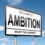 Ambition concept. — Stock Photo