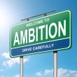 Stock Photo: Ambition concept.