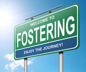 Fostering concept. — Stock Photo