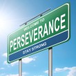 Royalty-Free Stock Photo: Perseverance concept.
