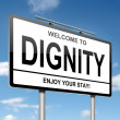 Dignity concept. — Stock Photo